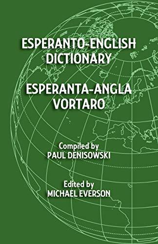 9781782010074: Esperanto-English Dictionary: Esperanta-Angla Vortaro (Esperanto Edition)