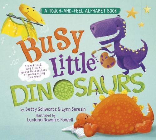 9781782022237: Busy Little Dinosaurs: A Back-and-Forth Alphabet Book (Back-and-Forth Books)