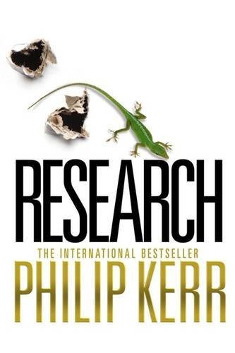 Research (SIGNED, BRAND NEW HARDCOVER COPY--FIRST ED.): Kerr, Philip