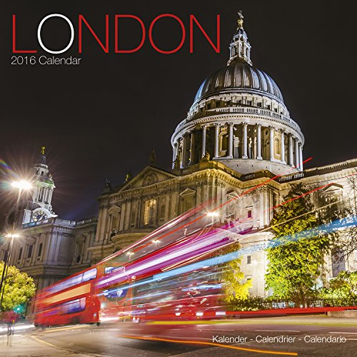 9781782084907: London Calendar - 2016 Wall Calendars - Photo Calendar - Monthly Wall Calendar by Avonside