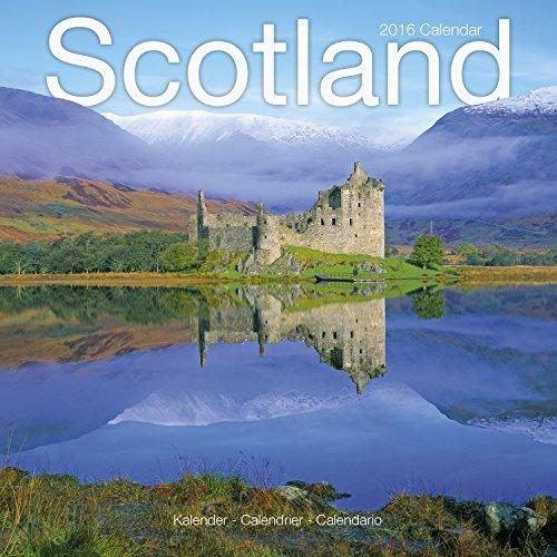 9781782085027: Scotland Calendar - 2016 Wall Calendars - Photo Calendar - Monthly Wall Calendar by Avonside