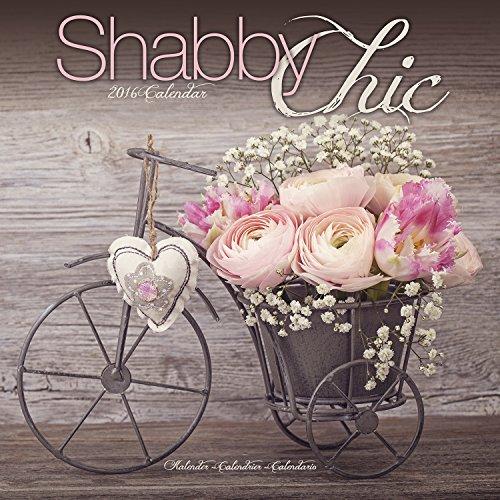 9781782085041: Shabby Chic Calendar - 2016 Wall calendars - Art Calendar - Monthly Wall Calendar by Avonside