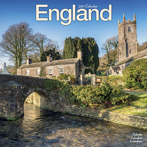England Calendar - Calendars 2016 - 2017 Wall Calendars - Photo Calendar - England 16 Month Wall Calendar by Avonside