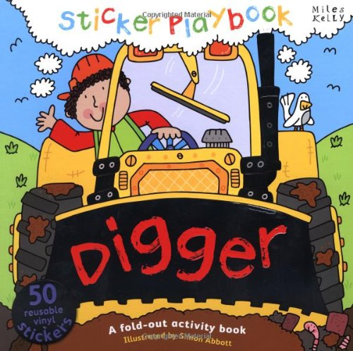 9781782090700: Sticker Playbook - Digger (Playbooks)
