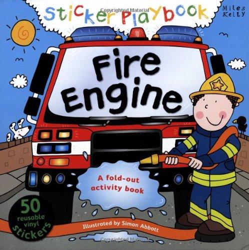 9781782090724: Sticker Playbook - Fire Engine (Playbooks)