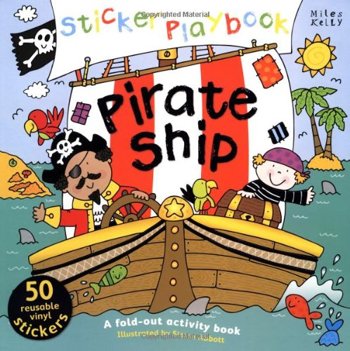9781782090731: Sticker Playbook - Pirate Ship (Playbooks)