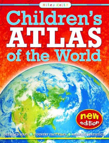 Children's Atlas of the World - Small Format (Paperback): Malcolm Watson