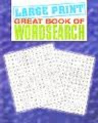 Large Print Wordsearch: Na
