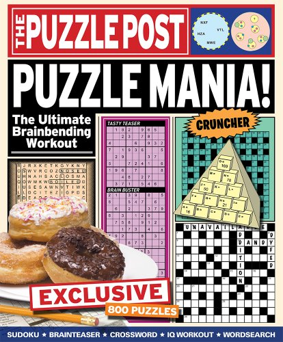 9781782126027: The Puzzle Post: Puzzle Mania!: The Ultimate Brainbending Workout