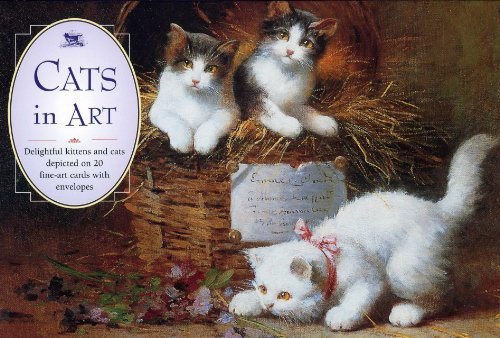Card Box of 20 Notecards and Envelopes: Cats in Art: A Delightful Pack Of High-Quality Fine Art ...