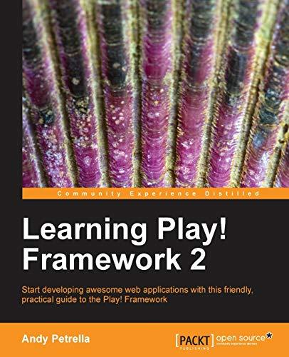 9781782160120: Learning Play! Framework 2