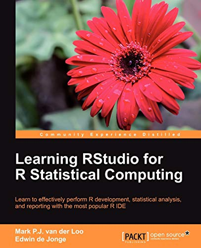 9781782160601: Learning RStudio for R Statistical Computing