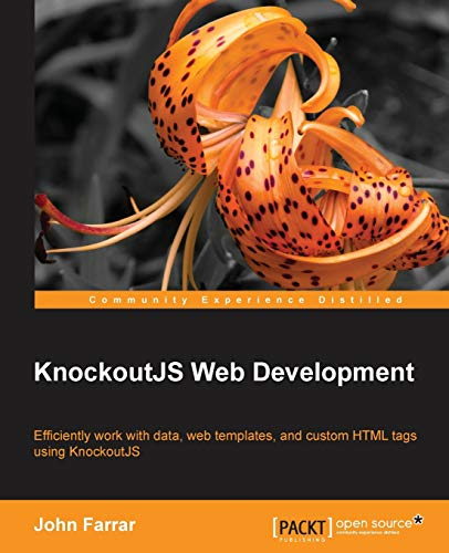 9781782161028: KnockoutJS Web Development