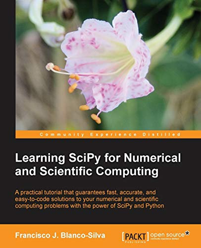 9781782161622: Learning SciPy for Numerical and Scientific Computing