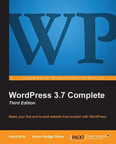 9781782162407: Wordpress 3.5 Complete: Third Edition