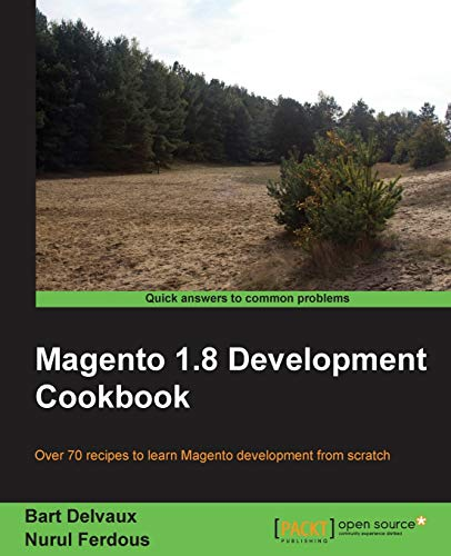 9781782163329: Magento 1.8 Development Cookbook
