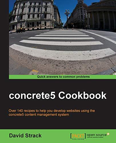 9781782164548: concrete5 Cookbook