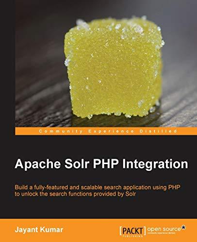 9781782164920: Apache Solr PHP Integration