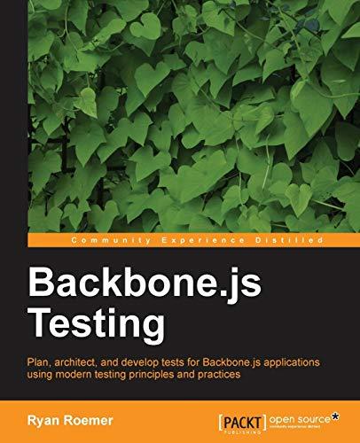 9781782165248: Backbone.js Testing