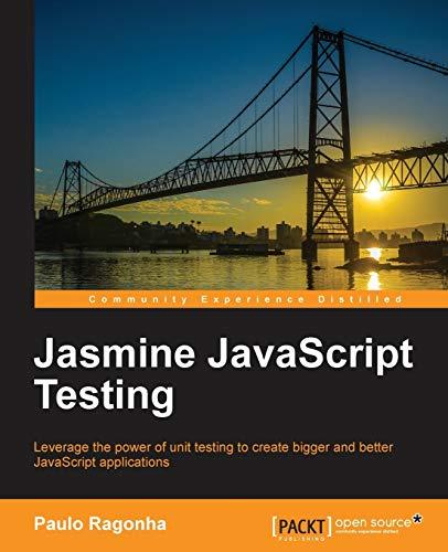 9781782167204: Jasmine JavaScript Testing