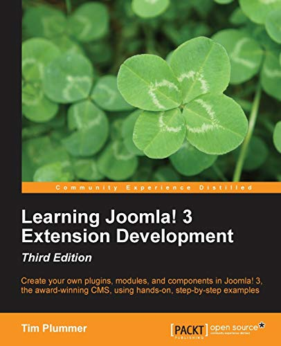 9781782168379: Learning Joomla! 3 Extension Development-Third Edition
