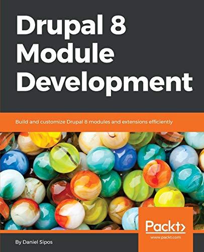 9781782168775: Drupal 8 Module Development