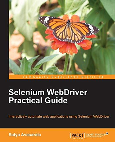 9781782168850: Selenium WebDriver Practical Guide