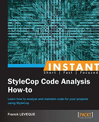 9781782169543: Instant Stylecop Code Analysis How-to