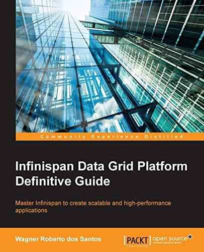 9781782169970: Infinispan Data Grid Platform Definitive Guide