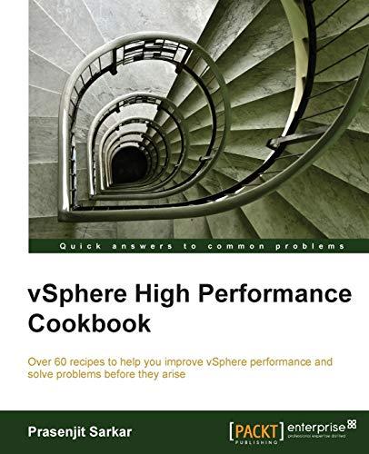 9781782170006: Vsphere High Performance Cookbook
