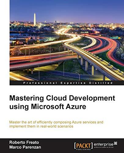 9781782173335: Mastering Cloud Development using Microsoft Azure