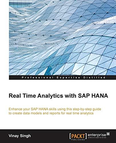 9781782174110: Real Time Analytics with SAP Hana
