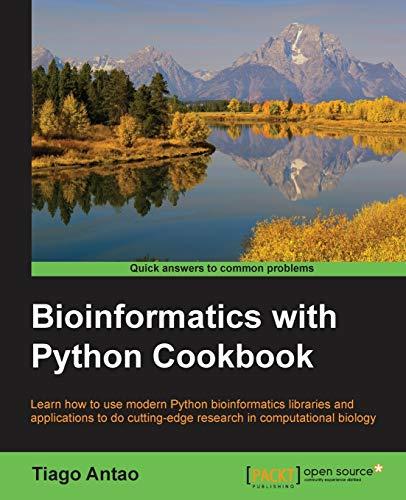 9781782175117: Bioinformatics with Python Cookbook