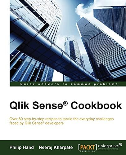 9781782175148: Qlik® Sense Cookbook