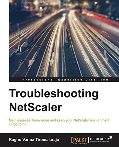 9781782175353: Troubleshooting NetScaler