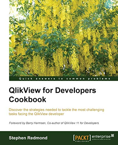 9781782179733: QlikView for Developers Cookbook