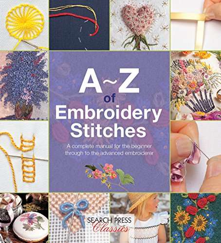A-Z of Embroidery Stitches (Paperback): Country Bumpkin Publications