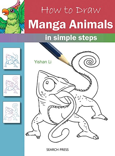 How To Draw: Manga Animals In Simple