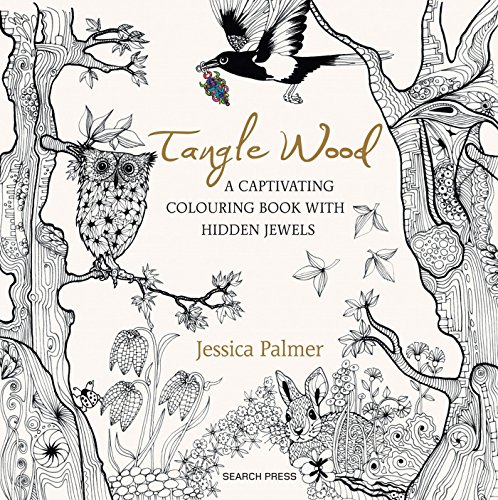 9781782213536: Tangle Wood: A Captivating Colouring Book with Hidden Jewels