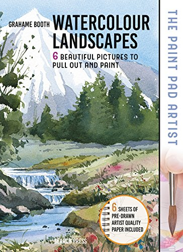 9781782216278: Paint Pad Artist: Watercolour Landscapes: 6 Beautiful Pictures to Pull-Out and Paint
