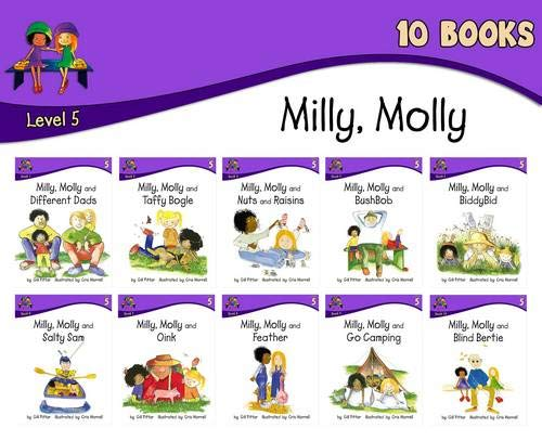 Milly Molly: Level 5 - 10 (Paperback): Gill Pittar
