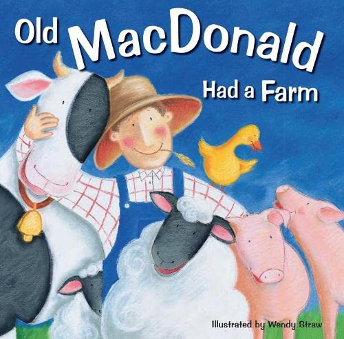 9781782261964: Old MacDonald Had a Farm (20 Favourite Nursery Rhymes - Illustrated by Wendy Straw)