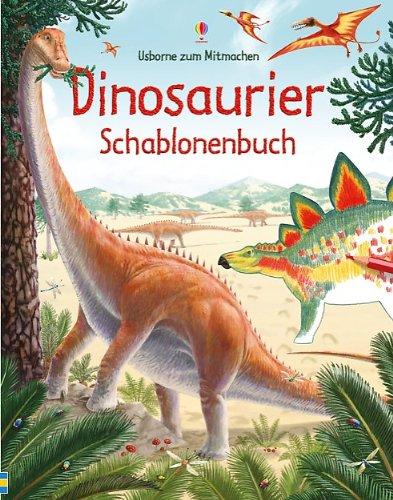 9781782320333: Dinosaurier Schablonenbuch