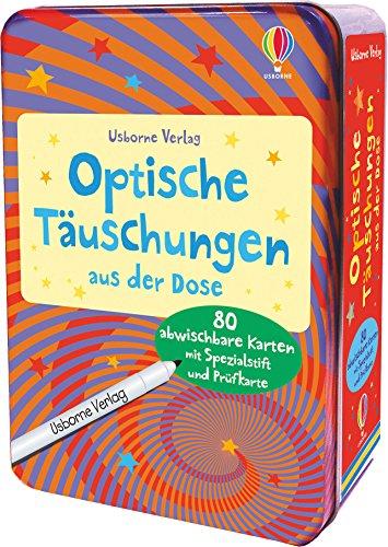 Optische Täuschungen aus der Dose: mit abwischbarem Stift & 80 Karten (Game): Sam Taplin
