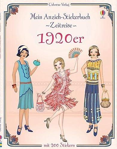9781782321873: Mein Anzieh-Stickerbuch Zeitreise: 1920er