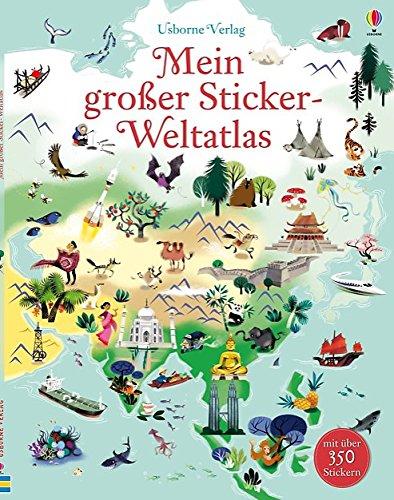 9781782321941: Mein großer Sticker-Weltatlas