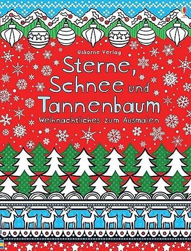 9781782322016: Sterne, Schnee und Tannenbaum: Weihnachtliches zum Ausmalen