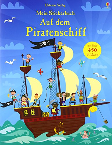 9781782322481: Mein Stickerbuch: Auf dem Piratenschiff