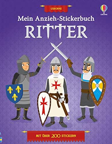 Mein Anzieh-Stickerbuch: Ritter: Kate Davies