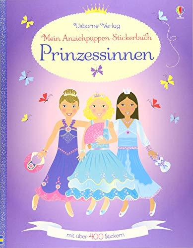9781782323624: Mein Anziehpuppen-Stickerbuch: Prinzessinnen
